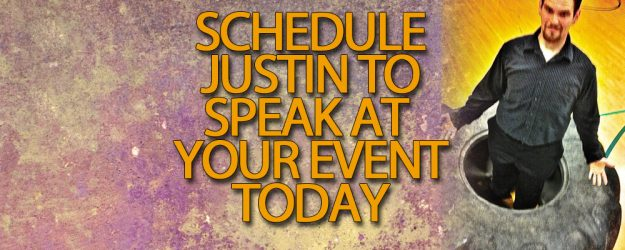 Book Justin Willoughby to speak at your event!