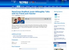 Catch Justin on StoryCorps!
